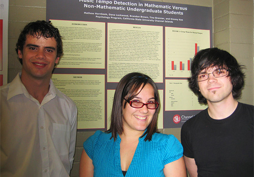 Students at Psychology 301 Poster Session